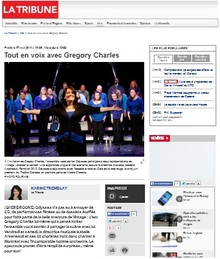Odyssea participe au spectacle Vintage avec Gregory Charles